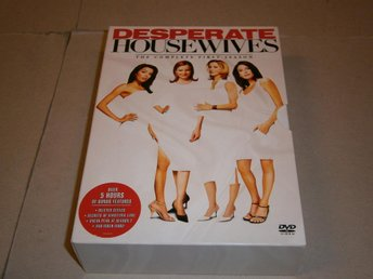 DESPERATE HOUSEWIVES - SÄSONG 1, (6 DISK) - FINT SKICK!