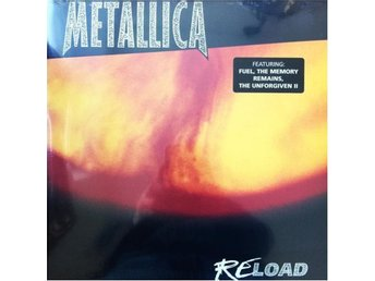 METALLICA - RELOAD LIMITED GATEFOLD NY 2-LP MINT
