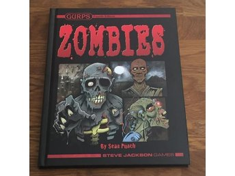 GURPS 4th edition ZOMBIES Hardback Steve Jackson Games