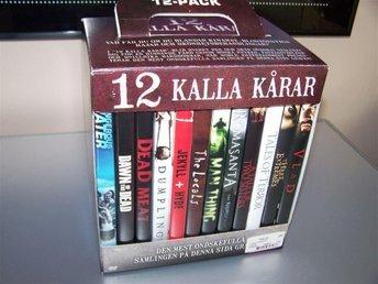12 Kalla Kårar - 12 DVDs med skräckfilmer! / R2 (Sv) - NY/INPLASTAD - skräck - Gnesta - 12 Kalla Kårar - 12 DVDs med skräckfilmer! / R2 (Sv) - NY/INPLASTAD - skräck - Gnesta
