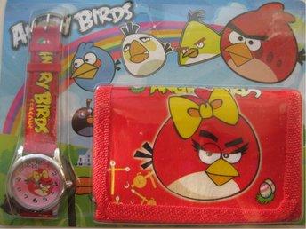 ANGRY BIRDS Set med Klocka och Plånbok Angry Bird Röd Röd - KP6 - Uddevalla - ANGRY BIRDS Set med Klocka och Plånbok Angry Bird Röd Röd - KP6 - Uddevalla