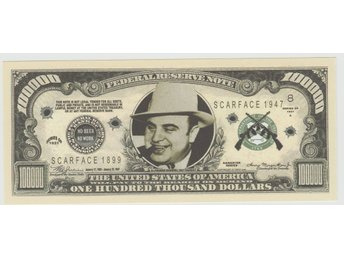 AL CAPONE ONE HUNDRED THOUSAND DOLLAR NOTE