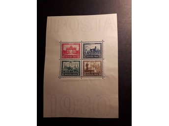 "1930 Stamp Exhibition ""IPOSTA"" in Berlin - Charity Stamps"