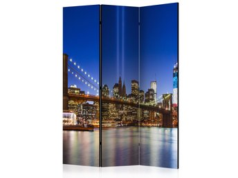 Rumsavdelare - Blue New York Room Dividers 135x172