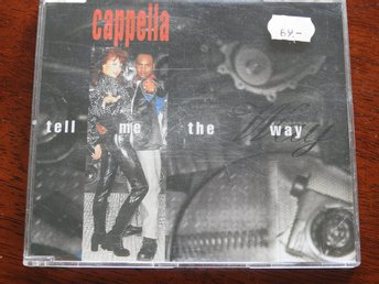 Cappella - Tell Me The Way CD Single 1995