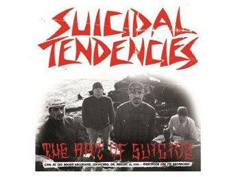 Suicidal Tendencies ‎–The Art Of Suicide lp Lights Camera 90