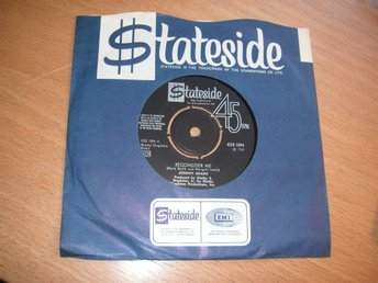 "JOHNNY ADAMS Reconsider me Svensk 7"" Stateside 1969"