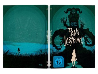 Pans Labyrint (2006) ( Lmtd Mediabook 3-DISC)Guillermo Del Toro (2 Bluray 1 DVD)