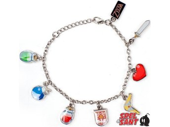 The Legend of Zelda Windwaker Charm Bracelet