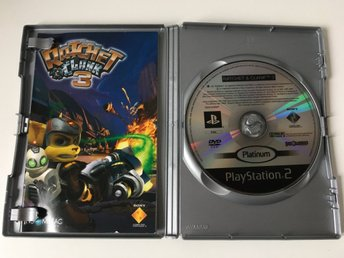 PS2 - Ratchet & Clank 3 - Tv-Spel - Insomniac Games