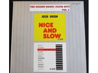 "JESSE GREEN - NICE AND SLOW /  KASSO - BABY DOLL (12"") ZYX"