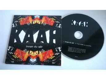 KAAH - Innan du går, single CD