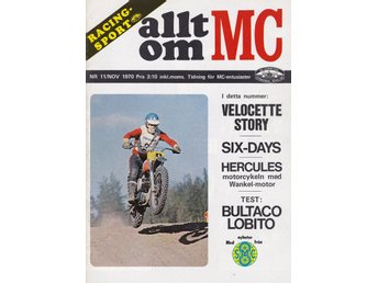 Allt Om Mc 1970-11 Indian Big Chief..Historien Om Velocette