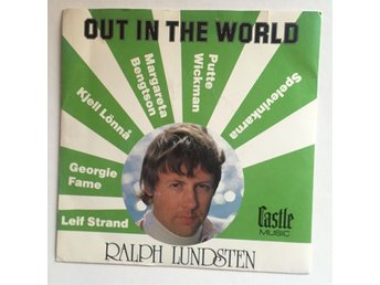 RALPH  LUNDSTEN  -  OUT IN THE WORLD EP 45 RPM