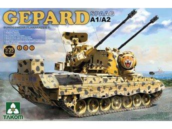 Takom 1/35 Gepard SPAAG A1/A2 Bundeswehr Flakpanzer - Skoghall - Takom 1/35 Gepard SPAAG A1/A2 Bundeswehr Flakpanzer - Skoghall