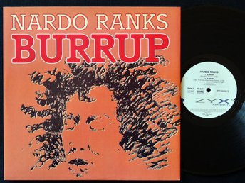 "NARDO RANKS (M-) – Burrup / 12"" Vinyl '90 / ZYX Records / HipHop, Ragga"