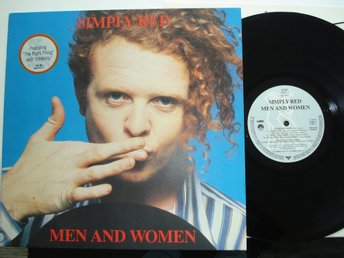 SIMPLY RED LP 1987