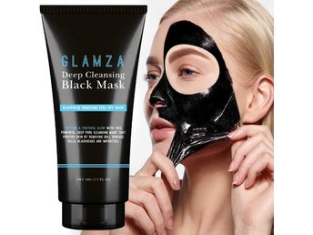 Glamza Charcoal Blackhead Remover Peel Off Facial Cleaning Black