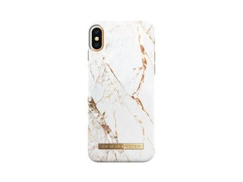 iDeal of Sweden - Fashion Case - Carrara Gold- iPhone X