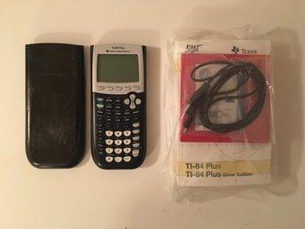 Miniräknare Texas Instruments TI-84 Plus