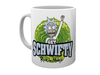 Rick and Morty mugg - Get schwifty