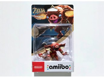 Bokoblin Amiibo Nintendo Switch Wii U Zelda Breath of the Wild och Skyrim
