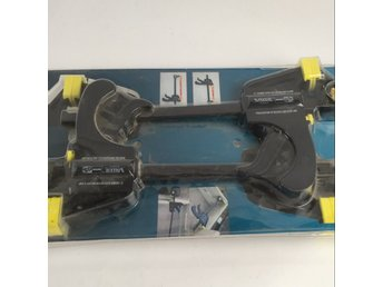 Value Tools, Enhandstving, Strl: 60 mm, Svart/Gul