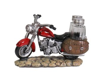 Red Bike Salt & Pepper Shaker Set.