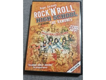 DVD Film Rock n roll high school featuring the ramones