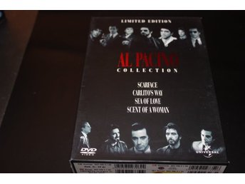 DVD-box: Al Pacino collection - 4 filmer (NYA, INPLASTADE!)