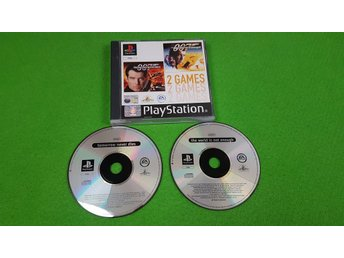 007 The World is Not Enough & Tomorrow Never Dies  Playstation ps1 psx