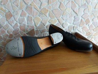 4e3e3e00174 Vintage steppskor i svart läder / BLOCH / strl .. (343237118) ᐈ Köp ...
