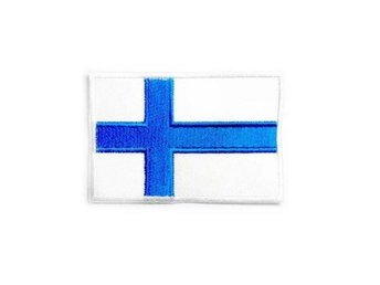 Finland Flag Medium Brodyrmärke.