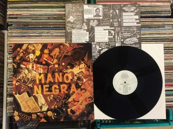 MANO NEGRA  RARE LP  PATCHANKA  ( MANU CHAO ) VIRGIN FRANCE 1988