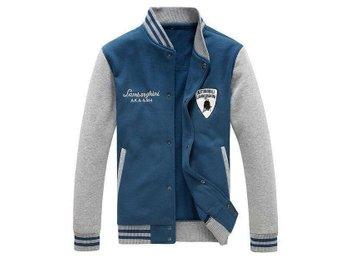 sweatshirts, tröja, jacka. bomull jacka, blå/grå. sista. L/XL - Sundsvall - sweatshirts, tröja, jacka. bomull jacka, blå/grå. sista. L/XL - Sundsvall