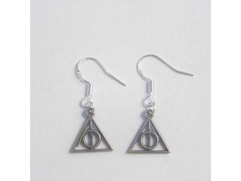 Harry Potter Deathly Hallows örhängen / earrings