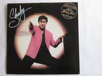 Shakin Stevens ‎–Shaky lp 1981 Epic rec Holland Rock n roll
