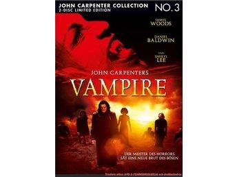 John Carpenters VAMPIRES(1998) LIMITED MEDIABOOK! James Woods - DVD Blu-ray - Norrsundet - John Carpenters VAMPIRES(1998) LIMITED MEDIABOOK! James Woods - DVD Blu-ray - Norrsundet