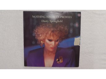 DUSTY SPRINGFIELD - VINYLMAXI - PET SHOP BOYS - NOTHING HAS BEEN PROVED!!!
