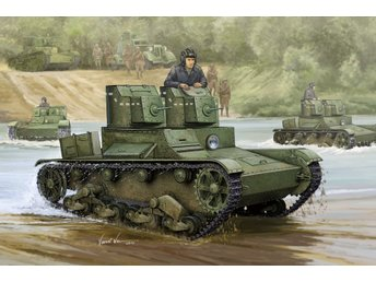 Hobby Boss 1/35 Soviet T-26 Light Infantry Tank Mod 1931