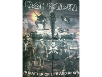 IRON MAIDEN A matter of life and death Flagga NEW!! - Mocejon (toledo) - IRON MAIDEN A matter of life and death Flagga NEW!! - Mocejon (toledo)