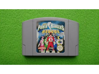 Power Rangers Lightspeed Rescue N64 Nintendo 64