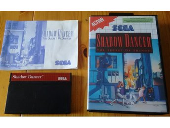 Sega Master System Shadow Dancer Shinobi Komplett