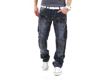 DYNAMITE Jeans Size 31 - Berlin - Original branded Designer Jeans from the new Trendlabel Kosmo Lupo / K&M Modell DYNAMITE Absolute stylish, full trendy & extremely comfortable. The best look and feeling every moment !!! Size W 31 / L 32 A:43cm B:82cm C:102cm Köparen betalar Fra - Berlin
