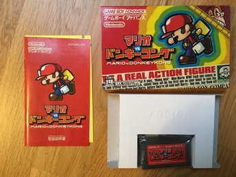 Mario vs Donkey Kong for Game Boy Advance GBA