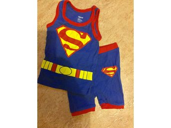 Superman linne/shorts NYTT
