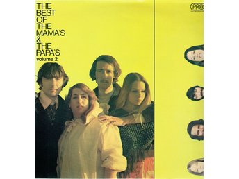 THE MAMA'S & THE PAPA'S - THE BEST OF THE MAMA'S & THE PAPA'S VOL 2. LP