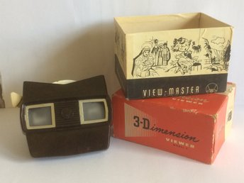 Vintage View-Master 3-Dimension Sawyer´s Belgium -bildskiva waterskiing Florida