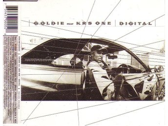 Goldie featuring KRS One-Digital (3 versioner) / CD-singel