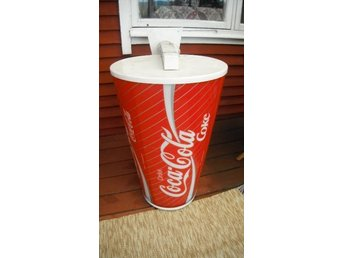 COCA COLA LARGE OUTSIDE LAMP SIGN WALL MOUNT
